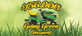 $156,000 Going Green Giveaway