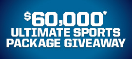 $60,000 Ultimate Sports Package Giveaway
