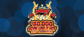 $80,000 Some Like It Hot Slot Tournament