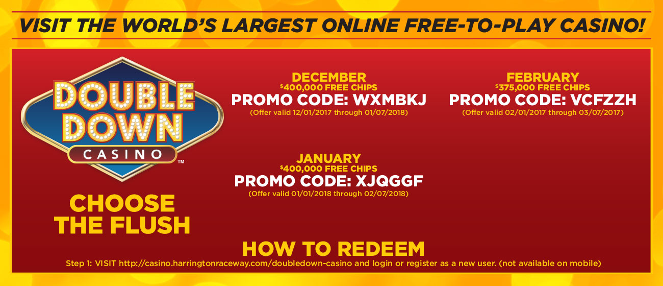 Double down casino promotions 2018
