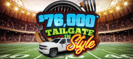 $76,000 Tailgate in Style