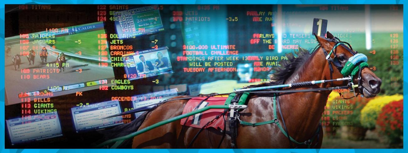 what is simulcast horse racing