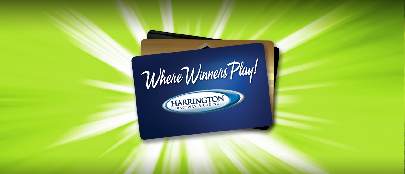 Harrington Raceway Players' Club Cards